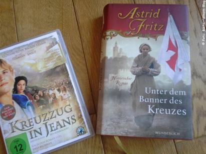 """Fritz, Astrid Unter dem Banner des Kreuzes 978-3-8052-5100-6 Wunderlich Und DVD """"Kreuzzug in Jeans"""""""