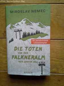 Miroslav Nemec Die Toten von der Falkneralm Mein erster Fall 978-3-8135-0702-7 Knaus